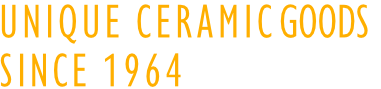 unique ceramic goods since 1964