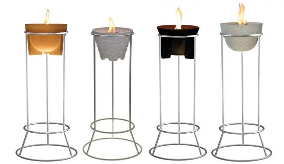 Wax Burner Stands