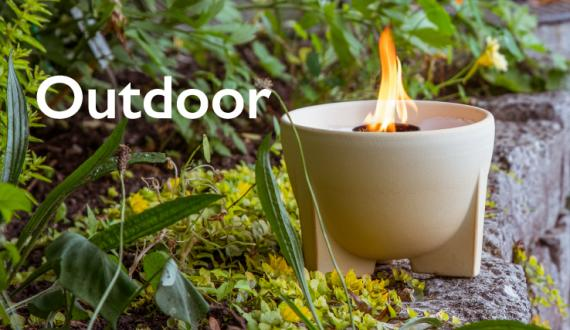 Wax Burner Outdoor