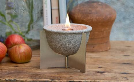 Waxburner Indoor M Granicium® with Lid