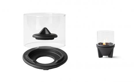 Windglas-Aufsatz für Schmelzfeuer® Indoor CeraLava®