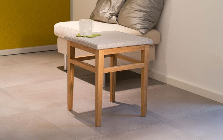 tisch granicium eiche natur niedrig denk. Black Bedroom Furniture Sets. Home Design Ideas