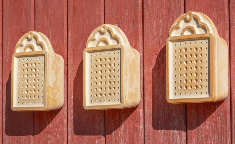 Wildbienenhaus Set mit 3 Stück