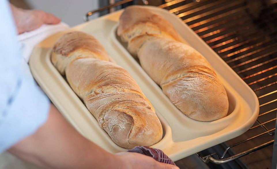 Baguettebäcker - Die patentierte Backplatte