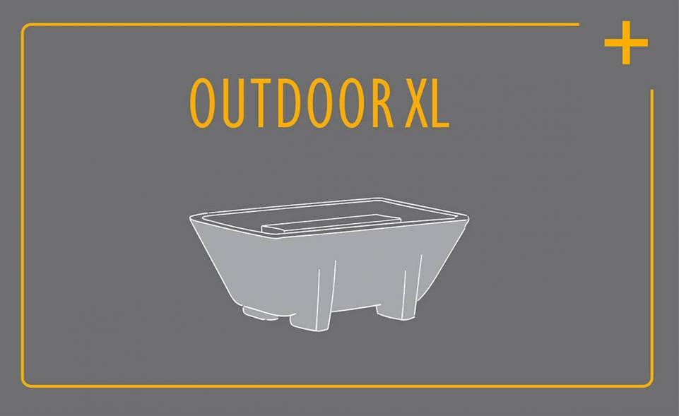 Komfort-Service für das Schmelzfeuer Outdoor XL