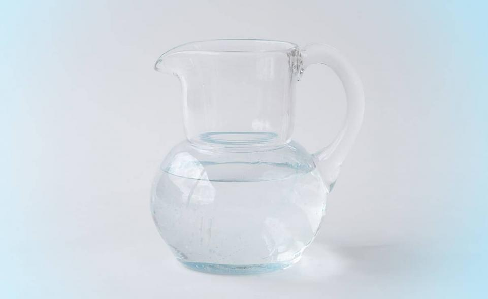 3Quellen Krug aus EM-Glas