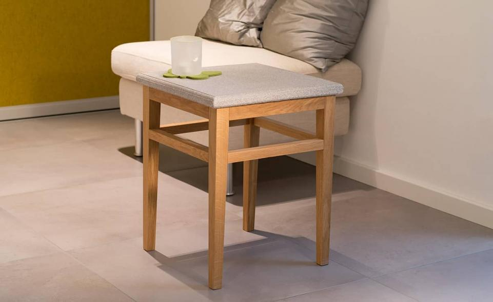 Tisch Granicium® Eiche natur niedrig