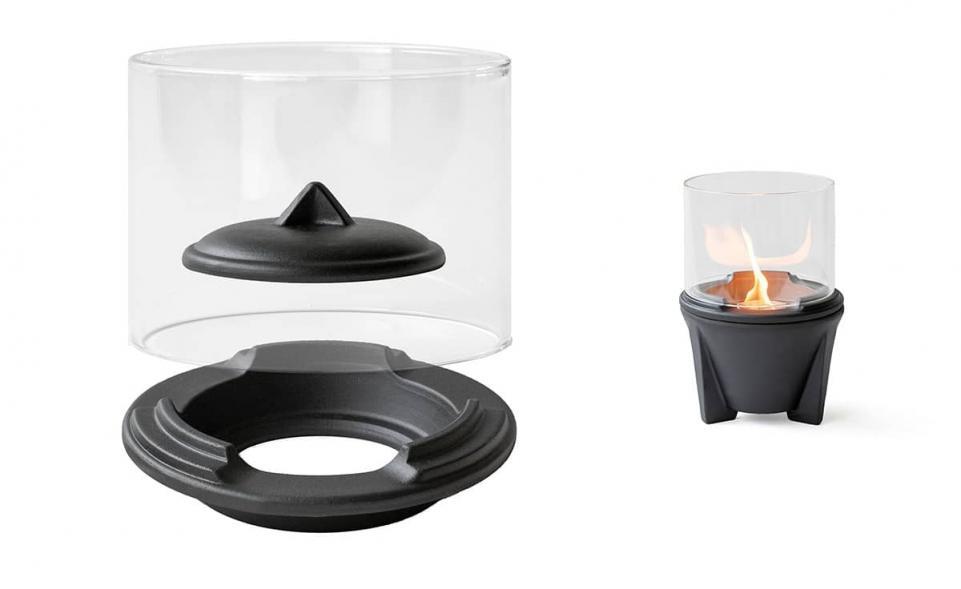 Lichtglas-Aufsatz für Schmelzfeuer® Outdoor CeraLava®