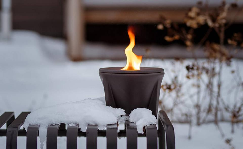 winterhaube schutzhaube schmelzfeuer outdoor ceralava denk keramik. Black Bedroom Furniture Sets. Home Design Ideas
