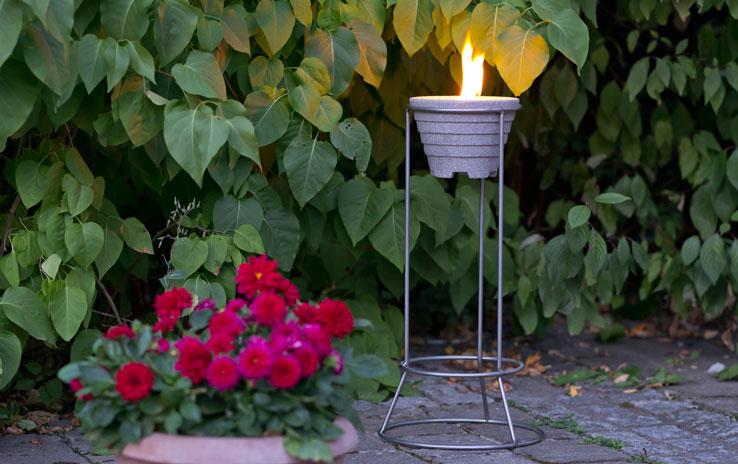 st nder edelstahl f r alle schmelzfeuer outdoor denk. Black Bedroom Furniture Sets. Home Design Ideas
