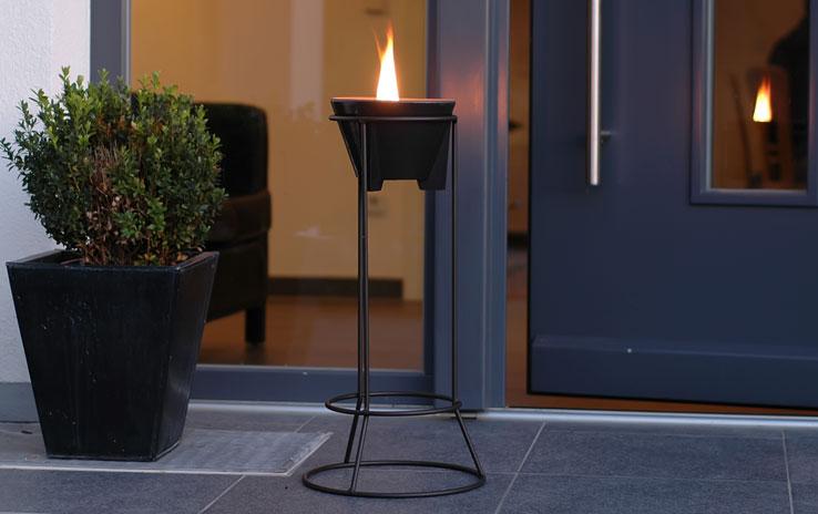 st nder stahl f r alle schmelzfeuer outdoor denk. Black Bedroom Furniture Sets. Home Design Ideas