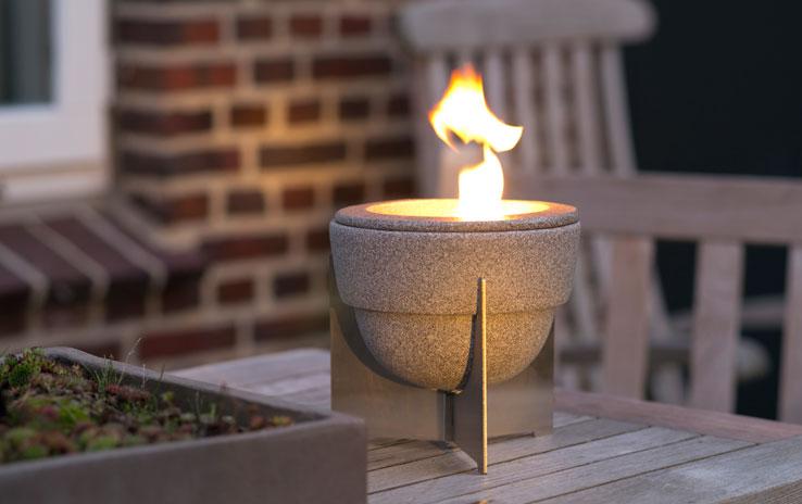 schmelzfeuer outdoor l granicium mit deckel denk. Black Bedroom Furniture Sets. Home Design Ideas