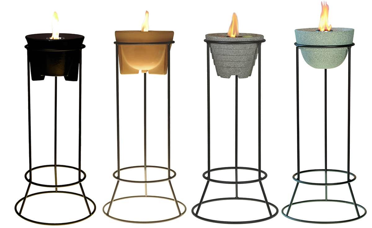 st nder stahl f r alle schmelzfeuer outdoor denk keramik. Black Bedroom Furniture Sets. Home Design Ideas
