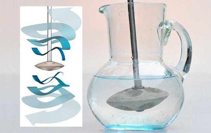 3quellen krug aus em glas denk. Black Bedroom Furniture Sets. Home Design Ideas